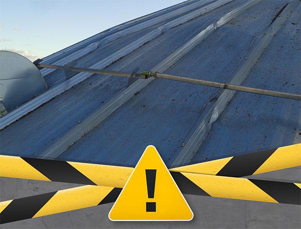 Grain Bin Roof Bulge